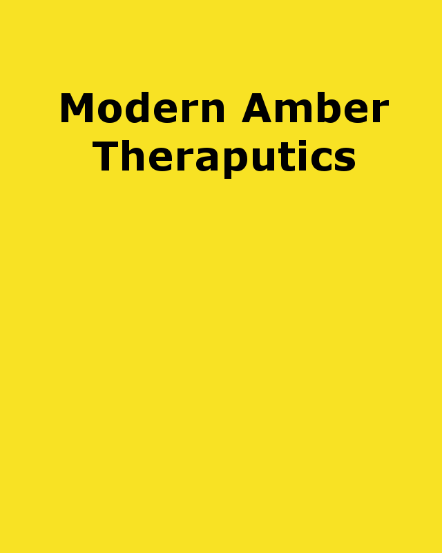 modern amber therapeutics