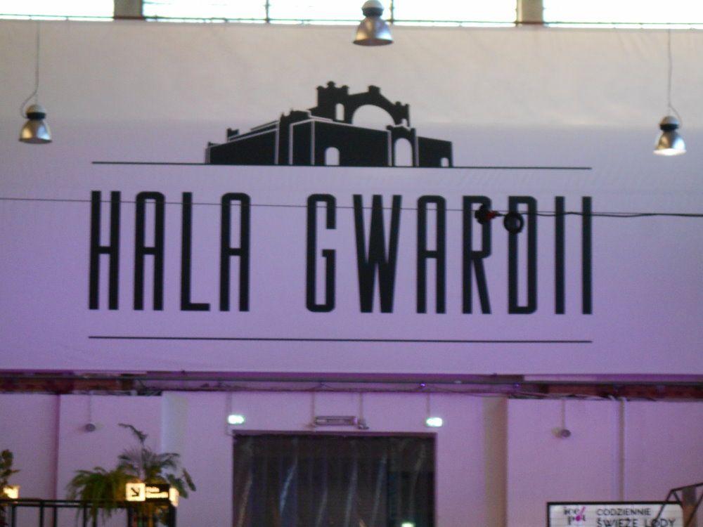 gwardi hall sign