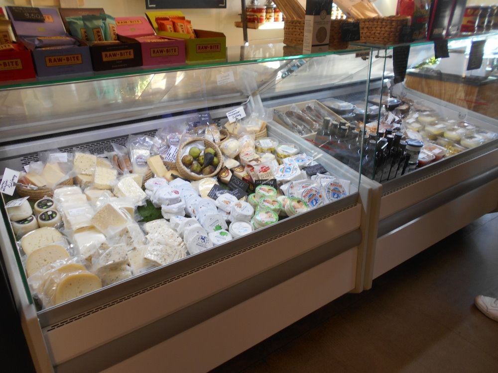 sam shop cheese case