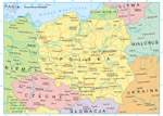 Map Of Borders Of Poland