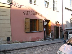 A great pierogarnia in Warsaw