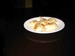 Cheese pierogi