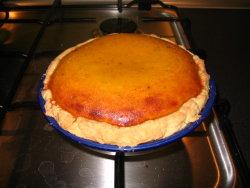 finished pumpkin pie