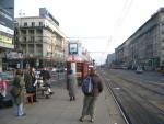 A Warsaw Tram Stop