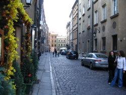 Warsaw side street